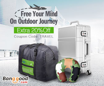 20% OFF for Outdoor Travelling Products