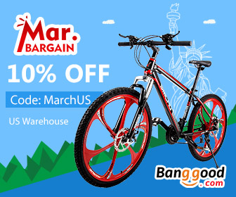 March Bargain: 10% OFF for ALL Categories in US Warehouse