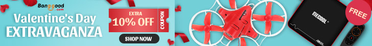 10% OFF Coupon Valentine's Day Promotion for All Categories