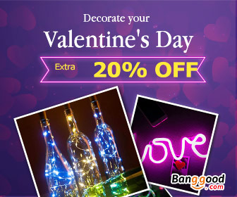 Happy Valentines Day!!! Up to 56% OFF for LED Lights with Extra 20% OFF Coupon