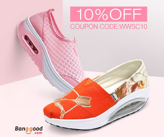 10% OFF for Women's Shoes