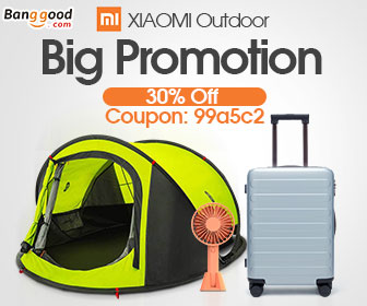 30% OFF coupon for Xiaomi Outdoor Collection