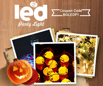 15% OFF for LED Party Lights