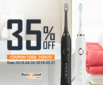 35% OFF coupon for Digoo DG-YS22 Electric Toothbrush