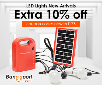 10% OFF coupon for LED new arrivals