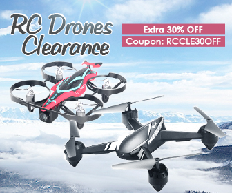 30% OFF Coupon for RC Drones Clearance