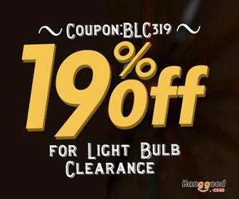 19% OFF for Lighting Bulb