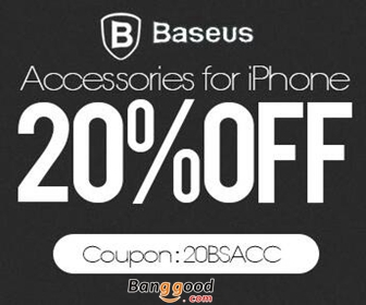 20% OFF for BASEUS iPhone Accessories