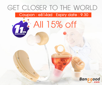 15% OFF for Digital Invisible Hearing Aid Kits
