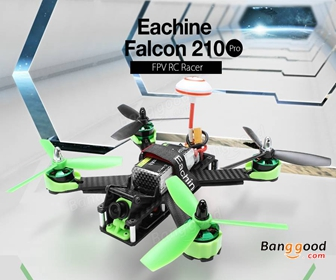 46% OFF for Eachine Falcon 210 Pro FPV Racer RTF with i6 Transmitter