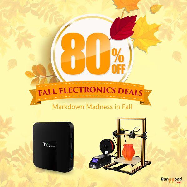 80% OFF Autumn Electronics Promotion