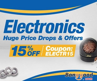 15% OFF Eletronics Clearance in EU Warehouse