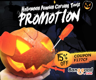 15% OFF for Halloween Pumpkin Carving Tools