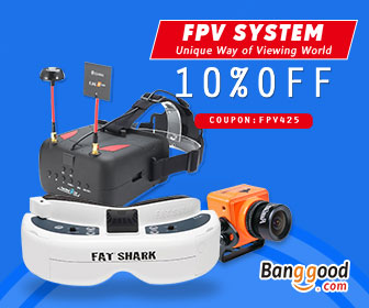 10% OFF for FPV System Products