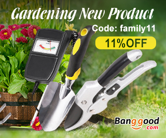 11% OFF for Gardening New Products Page