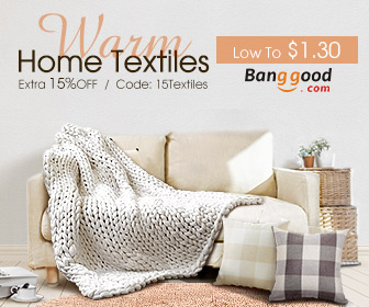 Up to 73% OFF for Home Textiles with Extra 15% OFF Coupon