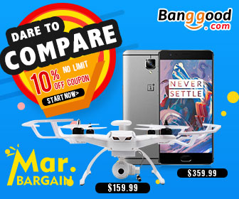 March Big Bargain: 10% OFF Sitewide Coupon for ALL Categories
