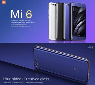 6% OFF Xiaomi Mi 6 6GB RAM 64GB ROM 4G Smartphone