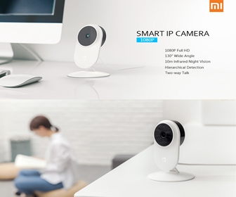 20% OFF Xiaomi MiJia 1080P Infrared Night Vision WiFi Smart Camera
