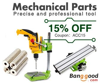 2017 Mechanical Part Promotion with 15% OFF Coupon