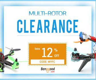 12% OFF RC Multi-Rotor Clearance