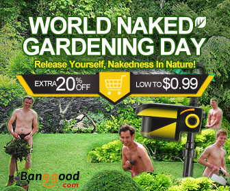 Extra 20% OFF for Naked Gardending Day