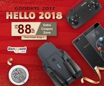 2018 New Year Promotion- Up to 88% OFF for All Categories