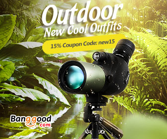 15% OFF Outdoor New Arrival & Water Sports