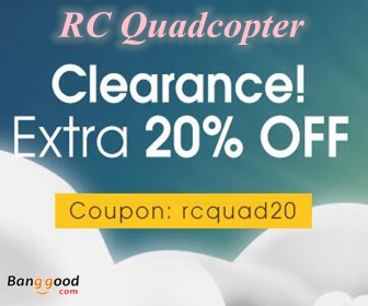 20% OFF RC Quadcopter & FPV Racer Clearance