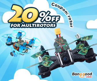 Up to 77% OFF for RC Multi-Rotors with Extra 20% OFF Coupon