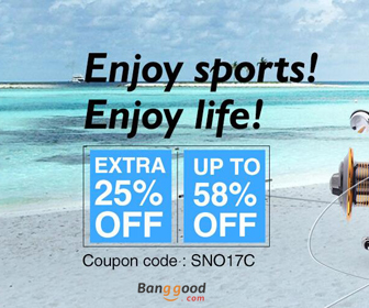 25% OFF for Outdoor Sports Products