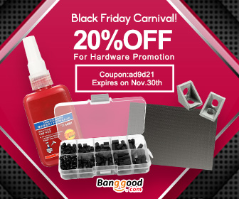 Black Friday Carnival- Up to 59% OFF for Hardware Promotion with Extra 20% OFF Coupon