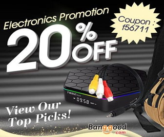 20% OFF Eletronics Promotion in US Warehouse