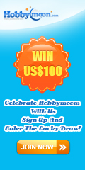 Win US$100, Celebrate Hobbymoon with us, Sign up And Enter The Lucky Draw, Great Surprises everyweek. Join Now !