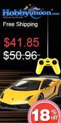 18% OFF +FREE shipping--MJXRC Lamborghini LP-570-4 RC Car (Yellow), offer ends on 1st, Oct,Nov.