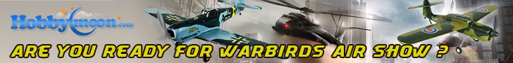 Are you ready for warbirds air show with hobbymoon?