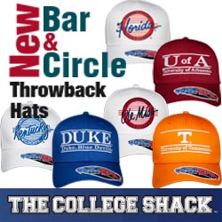 Bar & Circle Throwback Hat