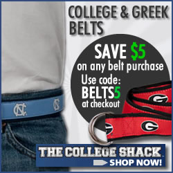 College D-Ring Belts at The College Shack