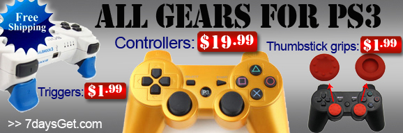 Discount Accessories For PS3