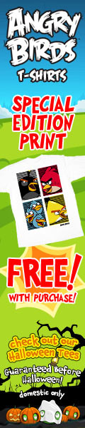 Buy One Get One Free Angry Birds Tees