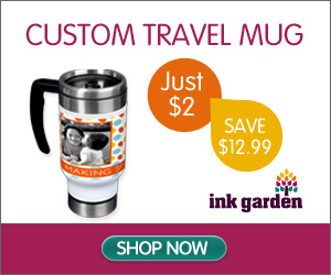 High Quality Custom Travel Mug - Just $2 - You Save $12.99!