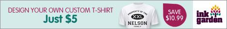 Custom T-Shirt - Just $5.00!