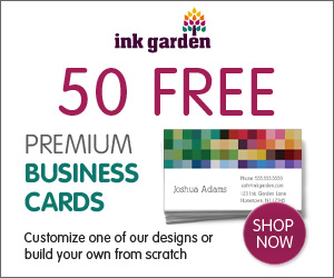 50 Free Business Cards!