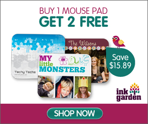 Buy 1 Custom Mouse Pad - Get 2 For Free!
