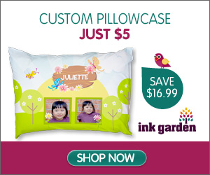 Custom Pillowcase - Just $5!