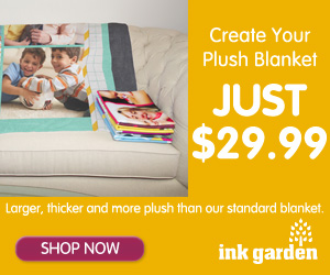 Extra Thick Premium Photo Fleece Blanket – Just $29.99 – Save $35!
