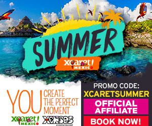 20% + $5USD using coupon code: XCARETSUMMER. Book two experience. Cancun, Mexico.