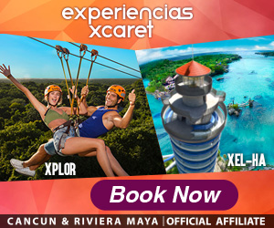 Live the adventure in Xel-Há, Xplor, Xplor fuego or Xenotes at Cancun & Riviera Maya