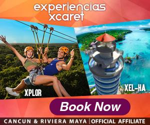 Live the adventure in Cancun & Riviera Maya with Xel-Há, Xplor, Xplor fuego or Xenotes.