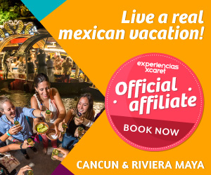 Get to know the Mexican traditions in Xcaret, Xichen, Xenotes or Xoximilco at Cancun & Yucatan.
